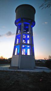 Ο νέος υδατόπυργος